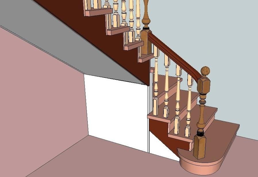 3D-проект лестницы