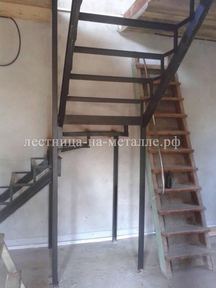 Лестница из п-образного своими руками 62