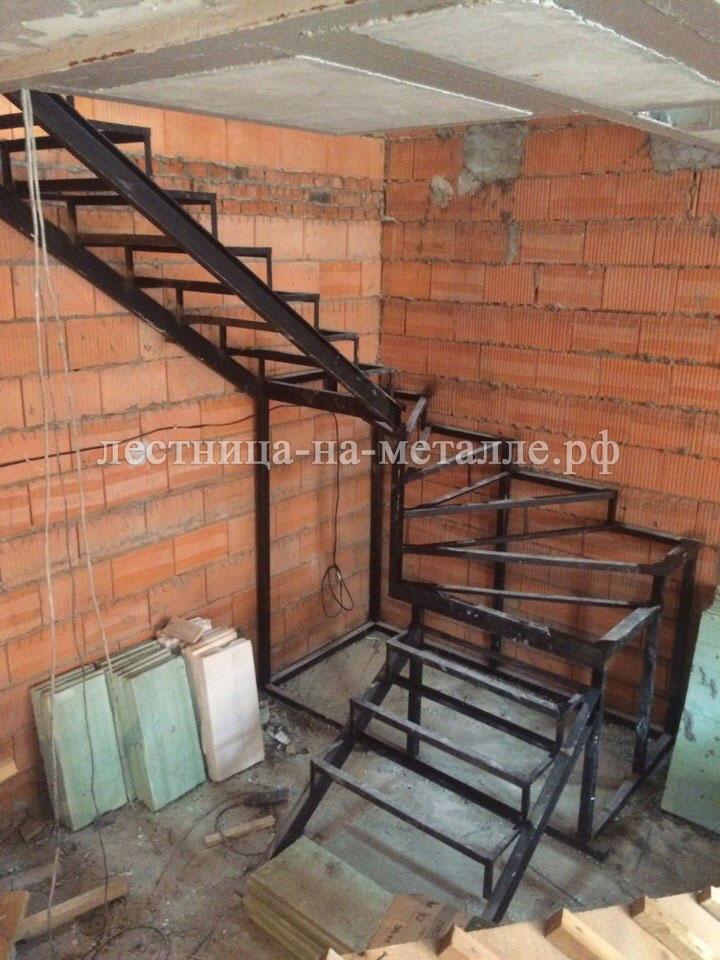 Лестница из металла своими руками чертежи фото