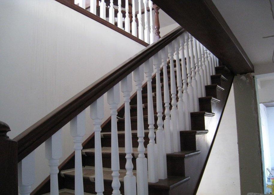 неправильная ширина лестницы