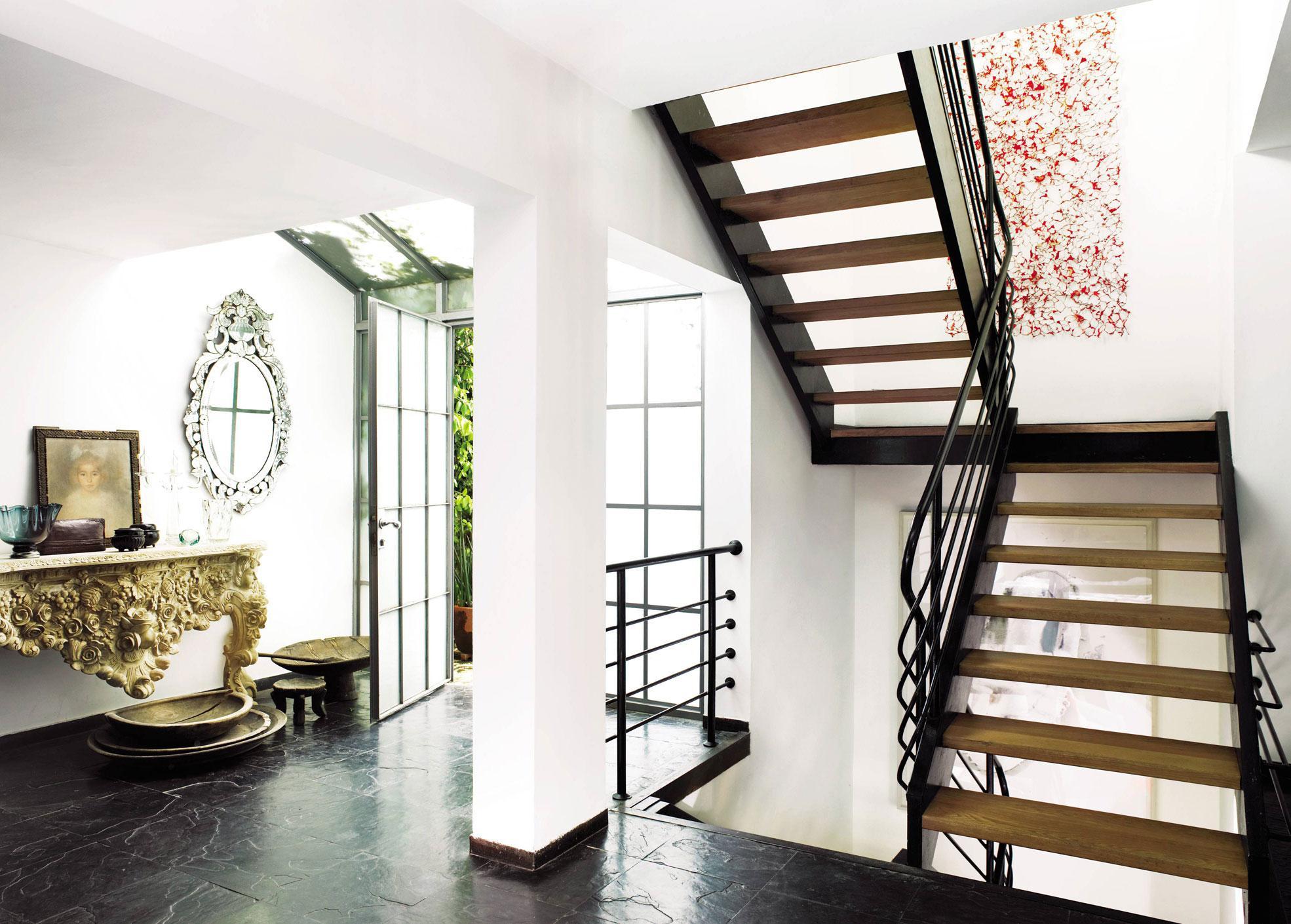 Decoracion escaleras interiores fotos